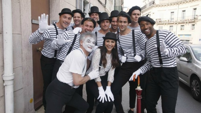 bachelorette mime